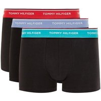 Mens Multi TOMMY HILFIGER Black Trunks 3 Pack*, Multi