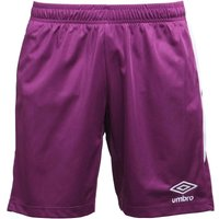 Umbro Mens Teamwear Match Poly Football Shorts Blackberry/Grape