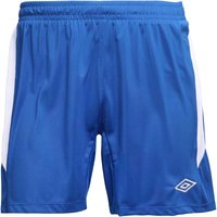 Umbro Mens Teamwear Match Poly Football Shorts Royal/White