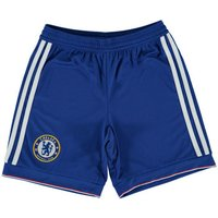 adidas  2015-2016 Chelsea Home Shorts (Kids)  men's Shorts in Blue