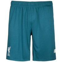 Warrior Sports  2015-2016 Liverpool Away Goalkeeper Shorts - Kids  men's Shorts in Green