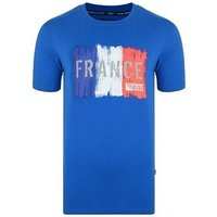 Canterbury  France Rwc 2015 Rugby T-shirt  men's T shirt in Blue