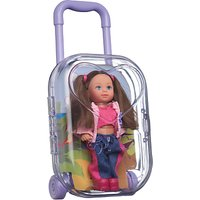 Steffi Evi Doll Air Hostess Trolley