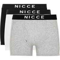 Mens Multi Nicce Assorted Colour Trunks 3 Pack*, Multi