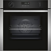Neff B4ACM5HN0B Slide and Hide Built-In Single Oven, Stainless Steel