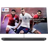LG OLED77W8PLA Signature OLED HDR 4K Ultra HD Smart TV, 77 with Freeview Play/Freesat HD, Picture-On