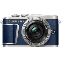 Olympus PEN E-PL9 Compact System Camera with 14-42mm EZ Lens, 4K Ultra HD, 16.1MP, Wi-Fi, Bluetooth,