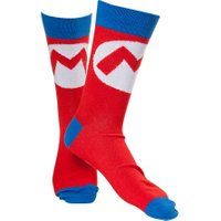 NINTENDO Mario Socks - 6-8, Red, Red