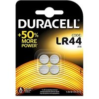 Duracell batteries LR44 coin cell 4s