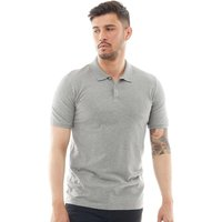 JACK AND JONES Mens Premium Belfast Polo Cool Grey