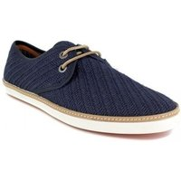 Peter Blade  Derby  Navy Blue Leather VALERA  men's Casual Shoes in multicolour