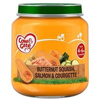 Cow & Gate Butternut Squash & Salmon from 4-6m Onwards 125g