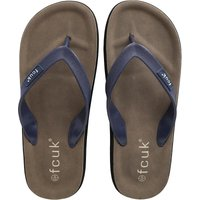 French Connection Mens Flip Flops Marine