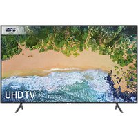 Samsung UE40NU7120 HDR 4K Ultra HD Smart TV, 40 with TVPlus & 360 Design, Ultra HD Certified, Black