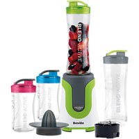 Breville VBL214 Blend Active ColourMix Family Personal Blender, Citrus Juicer and Smoothie Maker