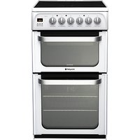 Hotpoint HUE52PS Ultima Electric Cooker, White