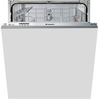 Hotpoint LTB4B019 Aquarius Integrated Dishwasher, White