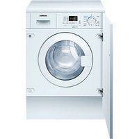 Siemens WK14D321GB iQ300 Integrated Washer Dryer, 7kg Wash/4kg Dry Load, A Energy Rating, 1400rpm Sp