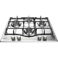 Hotpoint PCN641IXH Gas Hob, Stainless Steel
