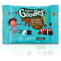 Organix Goodies Coconut & Cocoa Fruit & Seed Bites 20g