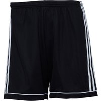 adidas Mens Squadra 17 Football Shorts Black/White