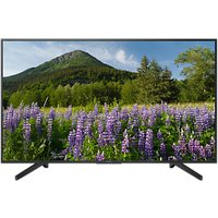 Sony Bravia KD55XF7093 LED HDR 4K Ultra HD Smart TV, 55 with Freeview Play & Cable Management, Black