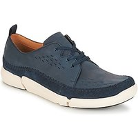 Clarks  Trifri Lace  men's Shoes (Trainers) in Blue