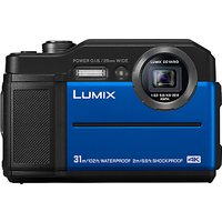 Panasonic Lumix DC-FT7 Waterproof, Freezeproof, Shockproof, Dustproof Compact Digital Camera, 4K UHD