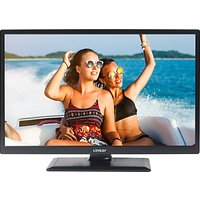 Linsar 24LED4000 LED HD Ready 720p Smart TV/DVD Combi, 24 with Built-In Wi-Fi, Freeview HD & Freevie