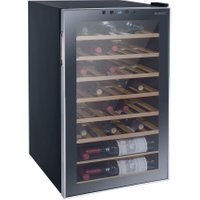 HUSKY Reflections HUS-HN12 Wine Cooler - Black, Black