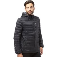 Trespass Mens Digby Down Fill Padded Hooded Jacket Black