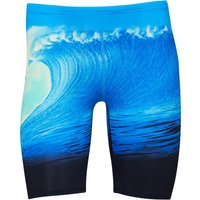 adidas Mens Infinitex And Extreme Parley Jammer Shorts Shock Blue/Easy Green/Black