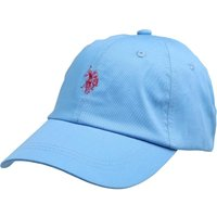 U.S. POLO ASSN. Mens Buckleigh Cap Ethereal Blue