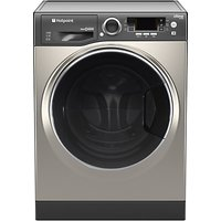 Hotpoint RD966JGDUK Washer Dryer, 9kg Wash/ 6kg Dry Load, A Energy Rating, 1600rpm Spin, Graphite