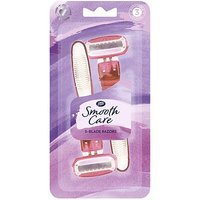 Boots Smooth Care Five Blade Razors 3pk