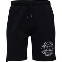 Brave Soul Mens Track Shorts Jet Black
