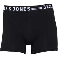 JACK AND JONES Mens Max Boxer Trunks Black
