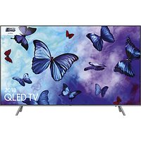 Samsung QE49Q6FN (2018) QLED HDR 1000 4K Ultra HD Smart TV, 49 with TVPlus/Freesat HD & 360 Design,