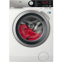 AEG L7WEE965R Freestanding Washer Dryer, 9kg Wash/6kg Dry Load, A Energy Rating, 1600rpm Spin, White