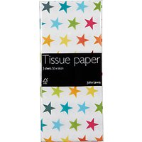 John Lewis & Partners Bright Stars Tissue Paper, Pack of 5