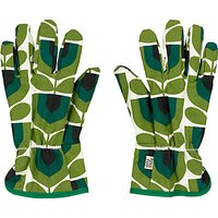 Orla Kiely Potting Gloves, Green/Multi