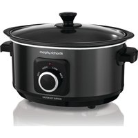 MORPHY RICHARDS Evoke Sear & Stew 460012 Slow Cooker - Black, Black