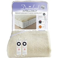 Dreamland Fleece Easy Fit Dual Control Heated Electric Underblanket