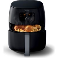 PHILIPS Viva Collection XXL HD9650/99 Air Fryer - Black, Black