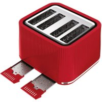 TEFAL Loft TT60540 4-Slice Toaster - Cherry Red, Red