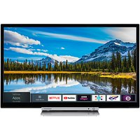 Toshiba 32D3863DB LED HD Ready 720p Smart TV/DVD Combi, 32 with Freeview HD & Freeview Play, Black
