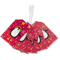 Boots Kids Penguin Gift Tags