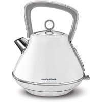 MORPHY RICHARDS Evoke One Traditional Kettle - White, White