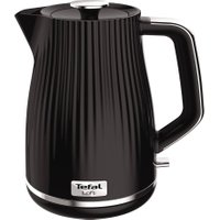 TEFAL Loft KO250840 Rapid Boil Traditional Kettle - Piano Black, Black
