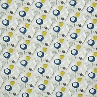 John Lewis & Partners Ilsa PVC Tablecloth Fabric, Indigo